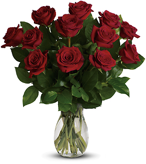 My True Love Bouquet with Short Stemmed Roses