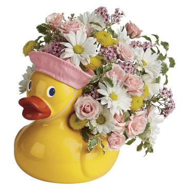 Telelfora's Sweet Little Ducky Bouquet